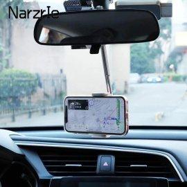 Otočný držák mobilu do auta, uchycení na zpětné zrcátko, nebo opěrku hlavy /Poštovné ZDARMA!