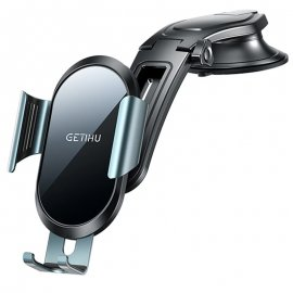 "GETIHU aluminiový držák mobilu do auta, až do 7"", 360 stupňů otočný, 3 varianty uchycení /Poštovné ZDARMA!"