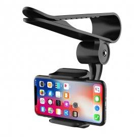 Otočný držák telefonu na sluneční clonu, klip, univerzální /Poštovné ZDARMA!