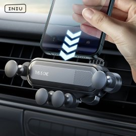 INIU Gravitační držák mobilu do auta, do mřížky ventilace /Poštovné ZDARMA!