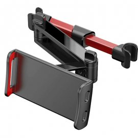 Teleskopický držiak telefónu / tabletu na opierku hlavy sedadla v aute / Poštovné ZADARMO!