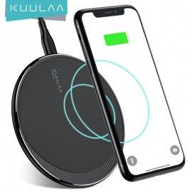 Bezdrôtová nabíjačka 10W Qi pre iPhone 11 Pre 8 X XR XS Max Samsung S10 S9 S8 / Poštovné ZADARMO!