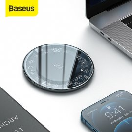 Qi Rýchla bezdrôtová nabíjačka pre Samsung S9 S10 + Note 9 10 iPhone 12 / Poštovné ZADARMO!