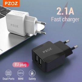 2.1A Duální USB rychlonabíječka pro mobily, tablety atd. /poštovné ZDARMA!