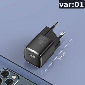 BASEUS 20W USB Typ C nabíjačka, iPhone 12 Pre Max 11 Mini 8 Plus atď / Poštovné ZADARMO!