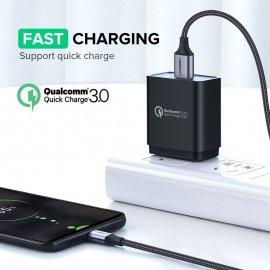 Ugreen rychlonabíjecí kabel Micro USB USB-C, 3A QC 3.0, odolný, univerzální /Poštovné ZDARMA!