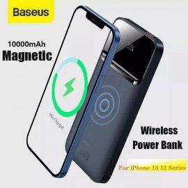 Bezdrôtová PowerBank / rýchlonabíjačka Baseus 10000mAh pre iPhone 13 12, PD 20W / Poštovné ZADARMO!
