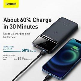 Bezdrátová powerbanka/rychlonabíječka Baseus 10000mAh pro iPhone 13 12, PD 20W /Poštovné ZDARMA!