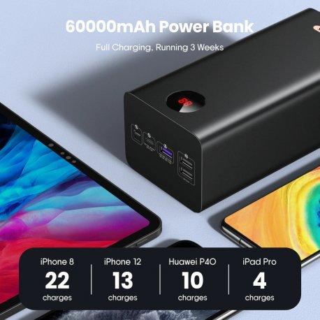 60000mAh Powerbanka ROMOSS PEA60, SCP PD QC 3.0. LED /Poštovné ZDARMA!