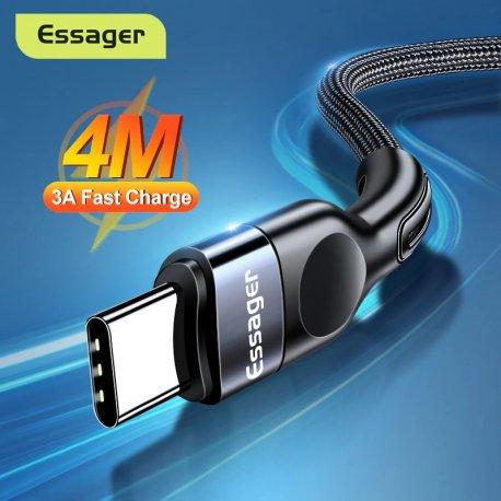 Rychlonabíjecí pletený USB C kabel Baseus, QC 3.0 3A, 0.5 - 4M /Poštovné ZDARMA!