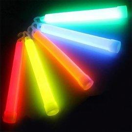 5 x svíticí tyčinka s háčkem pro zavěšení, chemicky fluorescentní / Poštovné ZADARMO!