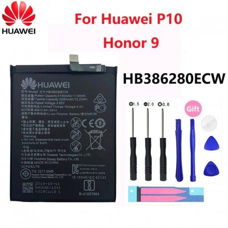 Baterie pro Huawei Ascend P10 Honor 9 Honor9, HB386280ECW, 3200mAh + nástroje