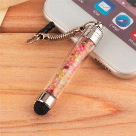 Dotykové pero stylus, zástrčka do sluchátkového jacku, luxusní krystaly /Poštovné ZDARMA!