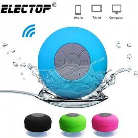 Bluetooth mini repráčik, vodeodolný s prísavkou / Poštovné ZADARMO!
