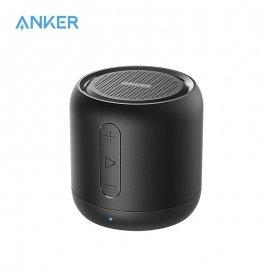 ANKER 5W mini bluetooth reproduktor, pasívny subwoofer, MicroSD, FM radio, AUX, FM, Micro SD, audio prehrávač /Poštovné ZADARMO!
