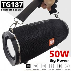 50W Boom Outdoor Party box reproduktor TG187, BT 5.0, FM, MicroSD /Poštovné ZDARMA!