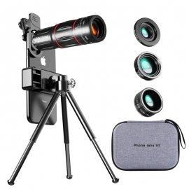 28X HD teleskop pre mobily, optický ZOOM, klip, univerzálne / Poštovné ZADARMO!