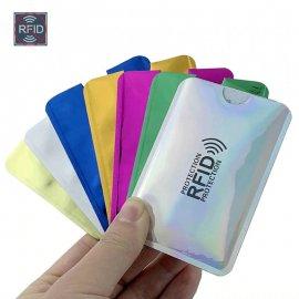 10ks RFID Stínící obaly pro platební karty a doklady proti zneužití / krádeži