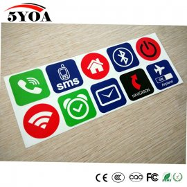 10ks NFC TAG nálepka NFC213 13.56mhz RFID / Poštovné ZADARMO!