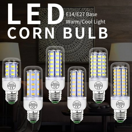 LED žárovka 220V GU10 24-72 LED SMD 5730 E14 E27 B22 G9 /Poštovné ZDARMA!