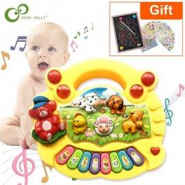 Piano pro děti se zvuky zvířat na farmě /Poštovné ZDARMA!