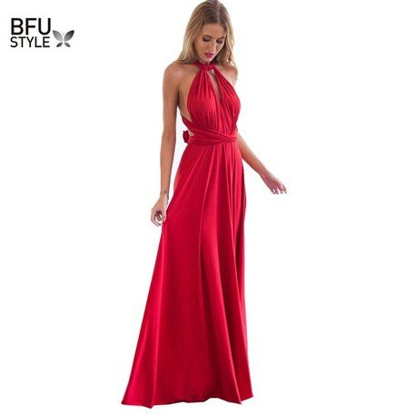 Nádherné elegantní dlouhé šaty