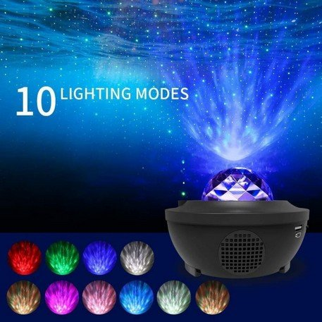 LED Projektor hvězdné oblohy